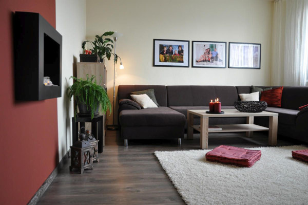 Obývačka v panelákovom byte