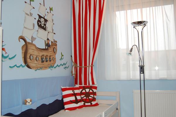 Detská izba v rodinnom dome